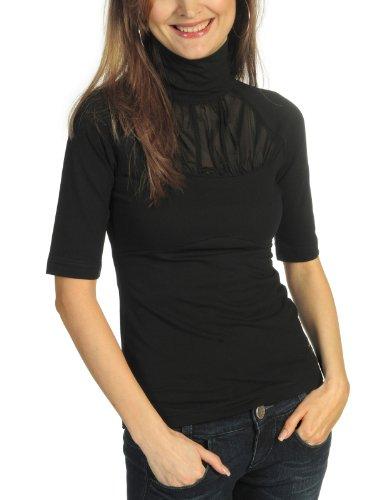 Vive Maria Boheme Cotton T Shirt Schwarz Größe S
