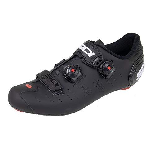 Ergo 5 Carbon Road Cycling Shoes (46.0, Matte Black/Black)