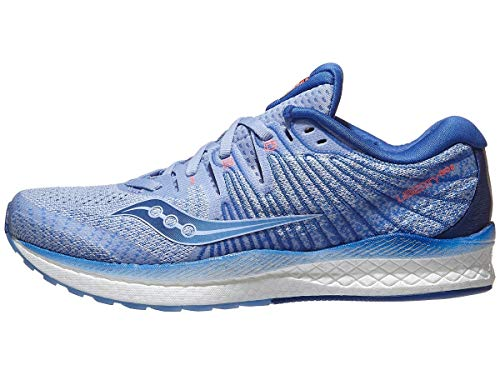 Saucony Women's S10510-1 Liberty ISO 2 Running Shoe, Blue/Navy - 10.5 M US