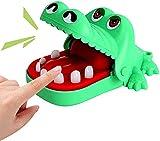 Coccodrillo Giocattolo Classico Bocca Dentista Morso Dito Famiglia Gioco Bambini Bambini Gioco di Abilità di gioco (verde)