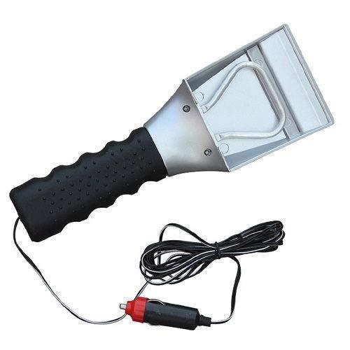 Best Bargain Heated Auto Electric Windshield Ice & Snow Scraper 12V