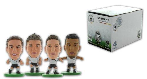 Soccer Starz 4Figur Blister von Deutschland International Stars in the home kit mit Schweinsteiger/Lahm/Müller und Boateng