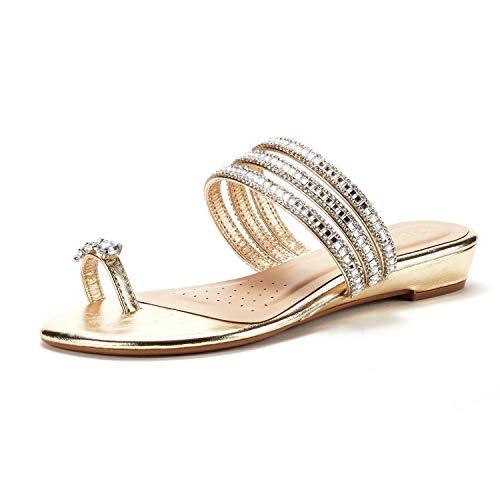 05 Gold Women Sandal - 2