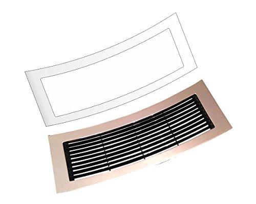 3 x Schutzfolie für Jura GIGA 5 & GIGA 6 - X3 - X7 - X8 - X9 (Alte Generation) Tassenablage, Abtropfblech, Tassenplattform