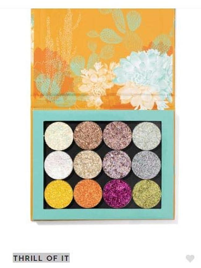 財団床を掃除するパイプカラーポップ ColourPop THRILL OF IT アイシャドウ eyeshadow
