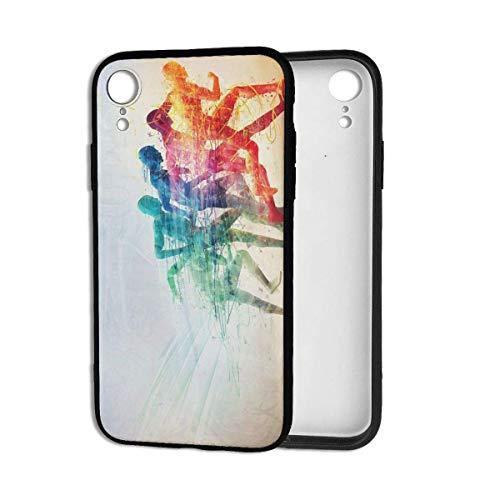 N/A iPhone XR Case Ocean Octopus Anti-Scratch Schokbestendig Harde PC Terug Zachte TPU Bumper Full-Body Beschermend Hoesje voor iPhone XR 6.1