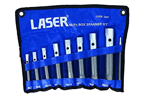 Laser 2457 Set de 8 clés à Douilles MM