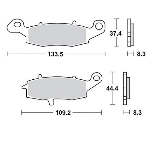 günstig Motomaster RoadPRO Keramik RV125 Van WVBT03-05 Vorderradbremsbeläge Vergleich im Deutschland