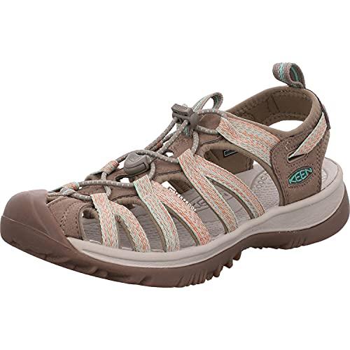 KEEN Whisper Sportschuhe Femmes Beige - 37 - Sportliche Sandalen