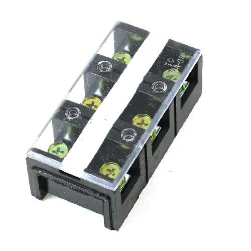 Aexit TC-603 600V 60A 3P zweireihiger Barriereblock-Schraubklemmenstreifen (9c61598bf485f76f6befcfd4cfc9a224)