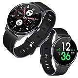 Tougue Smartwatch da uomo/orologio intelligente/Smartwatch da donna/controllo pressione arteriosa/sport/monitoraggio del sonno, attività, ossigeno, contapassi/compatibile con Android e iOS.