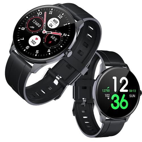 Tougue Reloj Inteligente Hombre / Smartwatch Mujer / Smart Watch / Control presión Arterial / Deportivo / Monitor sueño, Actividad, oxigeno, podometro / Compatible con Android & iOS. …