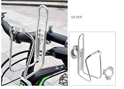 HZPXSB Soporte for Botella de Agua de la Bicicleta MTB de la Botella de Aluminio de aleación de Bicicletas de montaña Jaula Soporte de Ciclo Taza de la Bebida de Agua en Rack Accesorios de la Bici