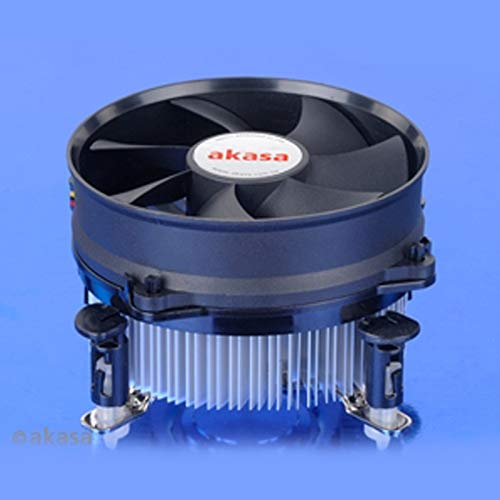 Akasa AK-CC7108EP01 Computer Kühlkomponente Prozessor Kühler - Computer Kühlkomponenten (Prozessor, Kühler, 9,2 cm, LGA 1156 (Socket H), Intel® Core™ i3, Intel Core i5, 600 RPM)