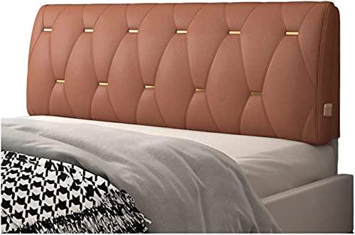 Qjkmgd Cojín, 1 0CM Ergonomía Gruesa Apoya al cojín Suave, Moderno fácil de Instalar la Almohada de la decoración del hogar, Hecho a Pedido (Color: Azul, Tamaño: 190x60x10cm)