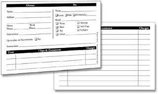 Customer Profile Card, 50-Pack