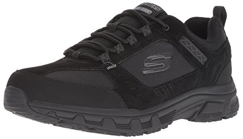 Skechers Mens 51893-BBK_44 Trekking Shoes, Black, EU