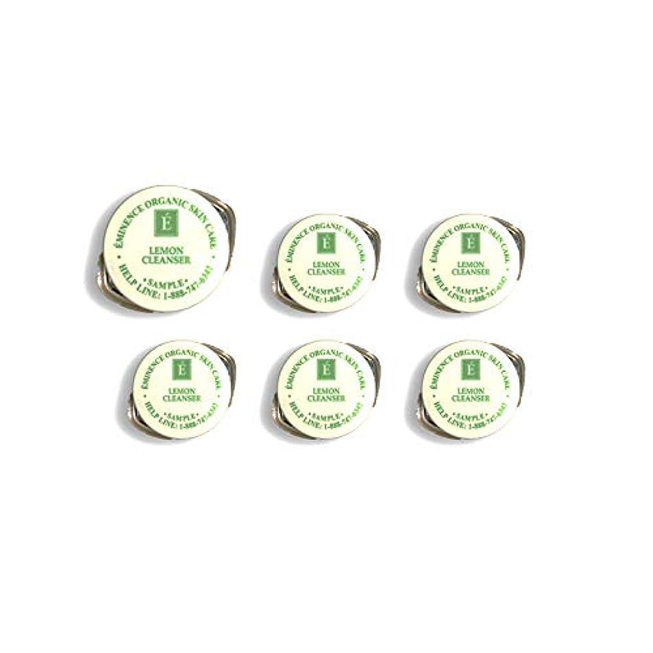 eminence 柠檬洁面乳样品一套六个旅行用100% 新鲜有机 eminence 有机护肤