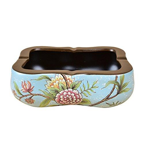 Asbak Creatieve Retro Woonkamer Koffie Tafel Snoep Schaal Kleine Gedroogde Fruit Plaat Keramische Decoratieve Ornamenten HUYP