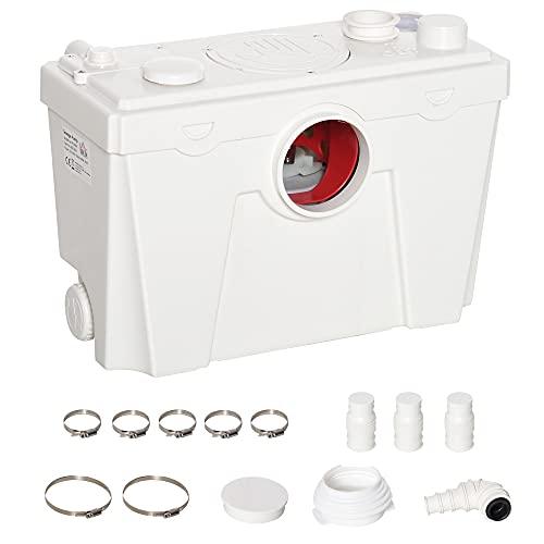 Homcom Abwasserpumpe für den Haushalt mit 500 Watt Leistung und integriertem Häcksler