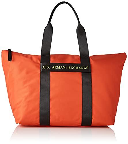 Armani Exchange, MEDIUM SHOPPING para Mujer, rojo, Einheitsgröße
