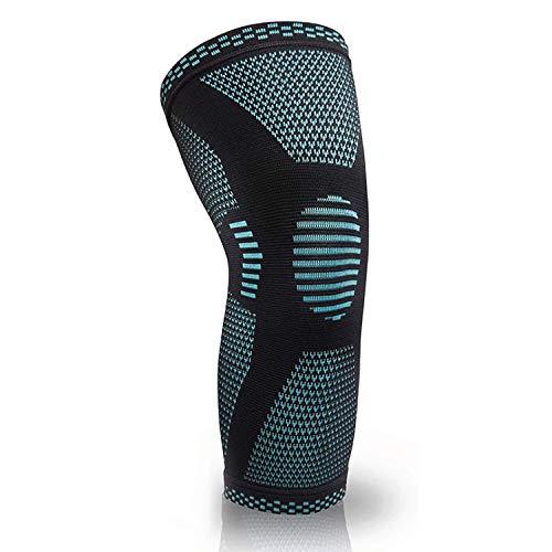 MEDGUARD Kniestütze | Kniebandage für Männer und Frauen | Knieschoner | Kniestützer | rutschfest | hervorragende Passform | für Rehabilitation, Gelenkschmerzen, Arthritis, Meniskus (XL)