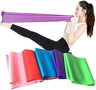 Flat Resistance Band, Elastic Exercise Equipment, Straight Stretching Fitness Training for Full Body Leg, Crossfit PT Yoga...