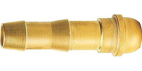 WerkzeugHERO Schlauchtülle Messing 4,0 mm X G 1/4 (Inh.10 Stück)