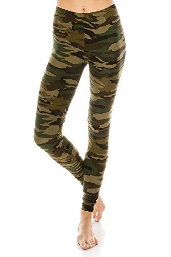 ALWAYS Women's Camo Yoga Leggings -…