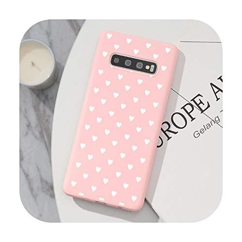 Hopereo Tpu Cover For Samsung Galaxy S20 Ultra Note 10 S10 Lite Pro 8 9 S8 S9 J4 J6 Plus 2018 J5 J7 2017 S6 S7 Edge S10E Love Heart Case-Kfe99-Duoaxbai-Note 9