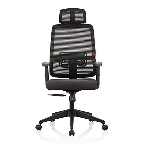 Featherlite Nylon Versa High Back Chair (Black)