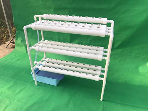 LAPOND Hydroponic Grow Kit,3 Layers 90 Plant Sites PVC Pipe...