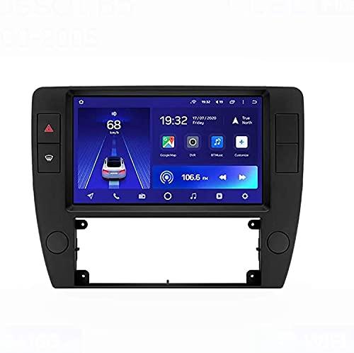 Android 10.0 Radio GPS Navegación para Volk-swagen Passat B5 2000-2005 IPS Pantalla táctil Coche Estéreo Sat Nav Soporte de Control del Volante BT Mirror-Link FM 4G WiFi