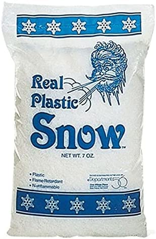 for Real Plastic Snow 7 Supplier oz half 56.49981 Home Décor 67% OFF of fixed price