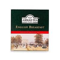 AHMAD TEA English Breakfast Tea 100 Teabags, AHMAD TEAイングリッシュブレックファストティー100ティーバッグ