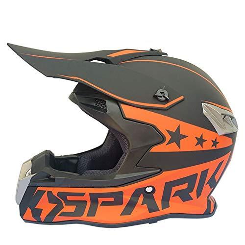 Adult Full Face Motorcycle Helmet Downhill Off-Road Anti Fog Transparent Lens Motorbike Helmet Mountain Motocross Racing Safety Caps