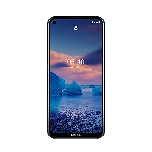 Smartphone Nokia 5.4 128GB 4GB RAM Tela de 6,3 Pol. Câmera Traseira 48MP Azul - NK025