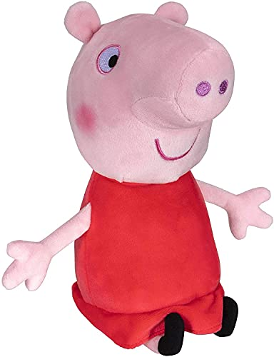 Peppa Pig Plush, 8 Inch Tall, Soft and Squishy Plush from The World of Peppa - for Play Time, Travel Time, and Bedtime - Toddler Toys