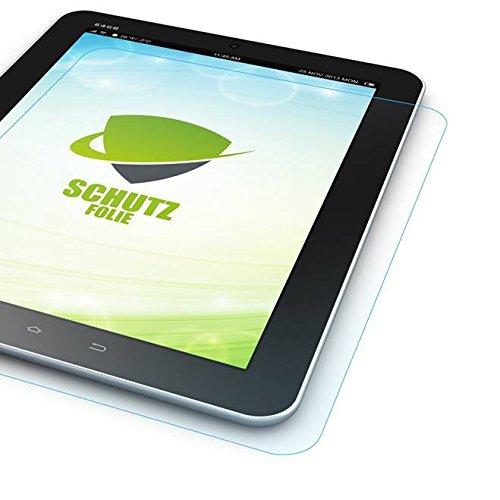 Wigento Bildschirmschutzfolie Folie für Samsung Galaxy TabPro S 12 Zoll W700 W708 LCD Zubehör + Poliertuch Screen Protector