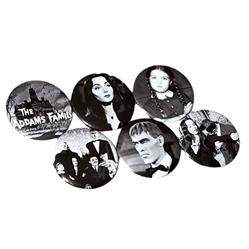 The Addams Family TV Series Magnet Collection Wednesday Gomez Morticia Horror Home Decorations Birthday Gift For Best Friend Lurch Cousin Itt