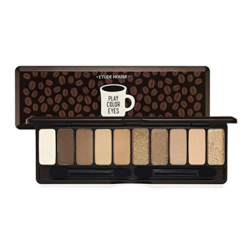 Etude House Play Color Eyes In The Cafe 1G X 10 Colors Eye Shadow Palette