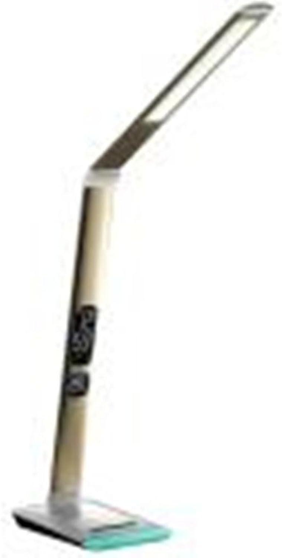 ZHIYUAN LED Dimmen gefalteten eye Lampe Kalender Tisch Lampe Metall klappbar Tisch Lampe Spezifikationen, 12W, Gold