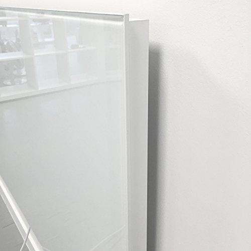 Infrarotheizung VASNER Citara G 900 Watt Glas mit Universal-Thermostat VUT35 - als Wandheizung, Flächenheizung, Elektroheizung, Steckdosenthermostat, Schaltsteckdose, Raumthermostat, Frost-Schutz-Funktion