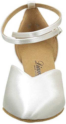 Diamant Diamant Standard 105-068-092 Damen Tanzschuhe – Standard & Latein, Damen Tanzschuhe – Standard & Latein, Weiß (Weiß), 38 EU (5 Damen UK) - 2