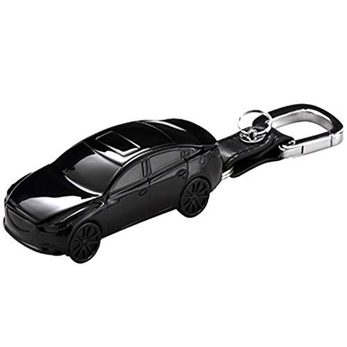 Essinged Cubierta de Llave del Coche Forma de Modelo de Carro Caja de Clavija de Coche Fob Adecuado para Mazda 3 BM BN 6 GH GJ GL CX-3 DK CX-4 GK CX-5 KE GH KF CX-8 KG MX-5 IV Targa Llavero