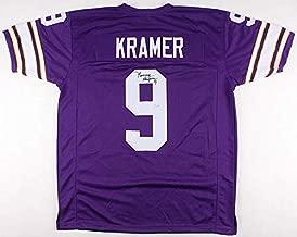 Tommy Kramer Autographed Signed Vikings Jersey - JSA Certified