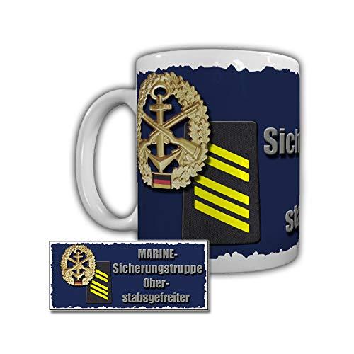 Tasse Marine Sicherungstruppe Oberstabsgefreiter Minensuchboot Hameln #29325