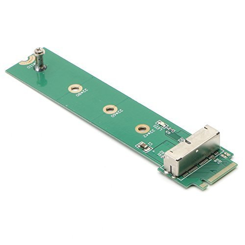 PCIe SSD to M.2 NGFF M Key Adapter Card for 2013 2014 2015 2016 MacBook Air Pro Retina, Hard Drive Converter to Ngff M2, Support Model A1465 A1466 A1398 A1502