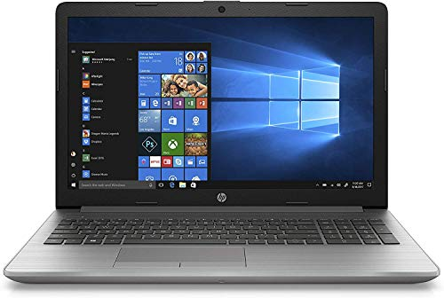HP 255 G7, (15,6 Zoll / FHD) Business Laptop (AMD A4-9125, 4GB DDR4 RAM, 256GB SSD, AMD Radeon R3, Windows 10 Home) Silber