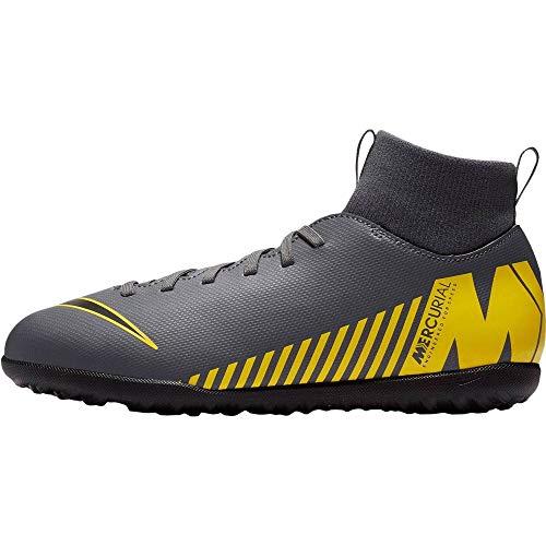 Nike Scarpa jr Calcetto Superfly 6 Club tf 070 Grigio, 38.5